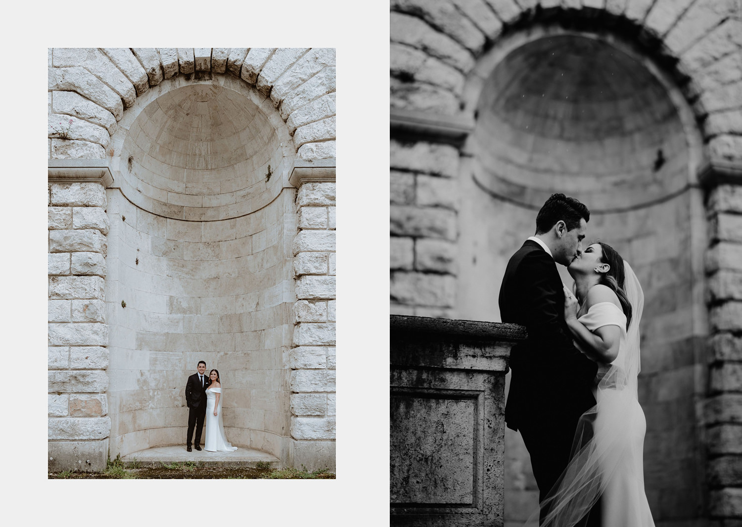 elopement photographer florence romantic piazzale michelangelo portrait session