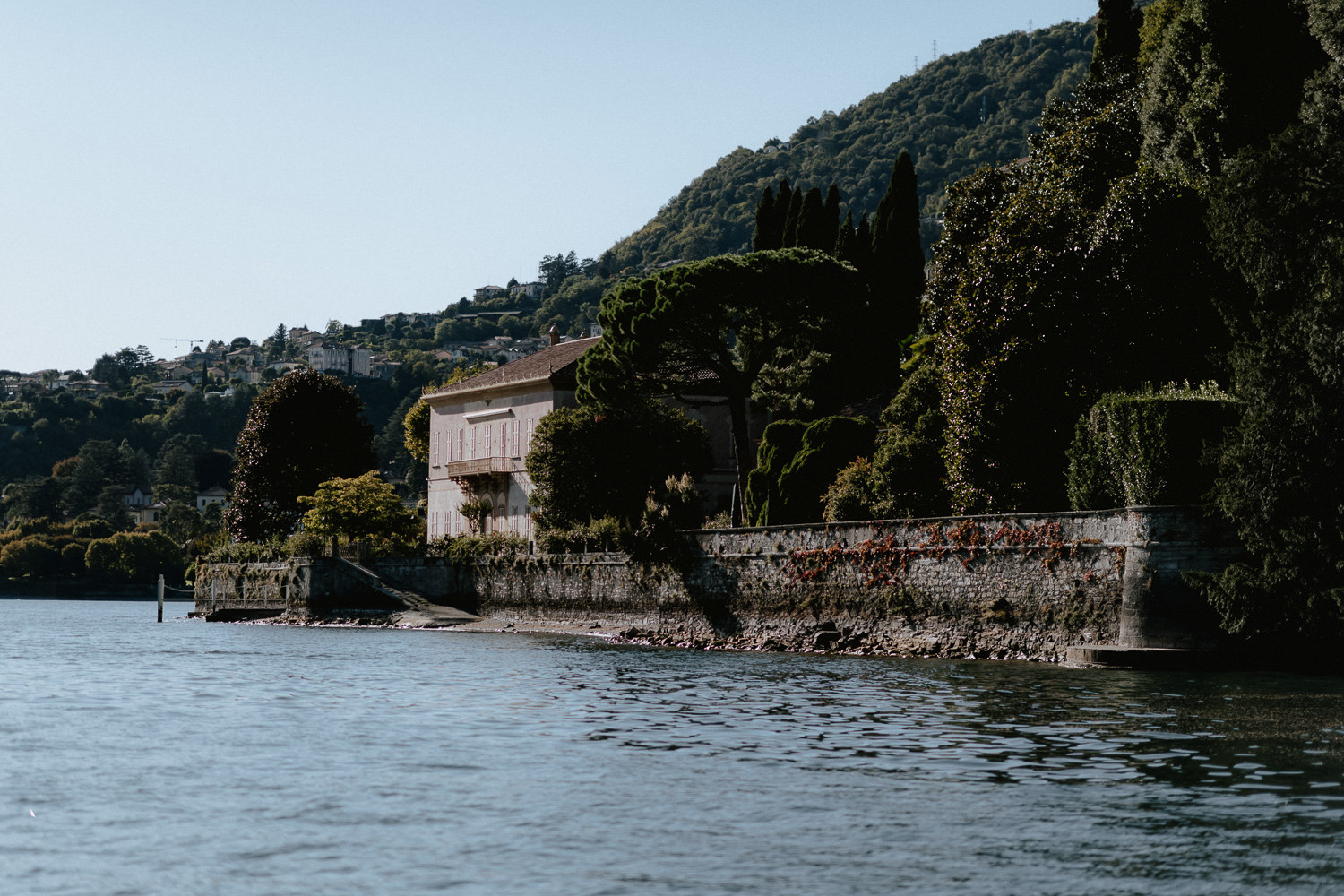 lake como wedding photographer villa pizzo wedding ceremony