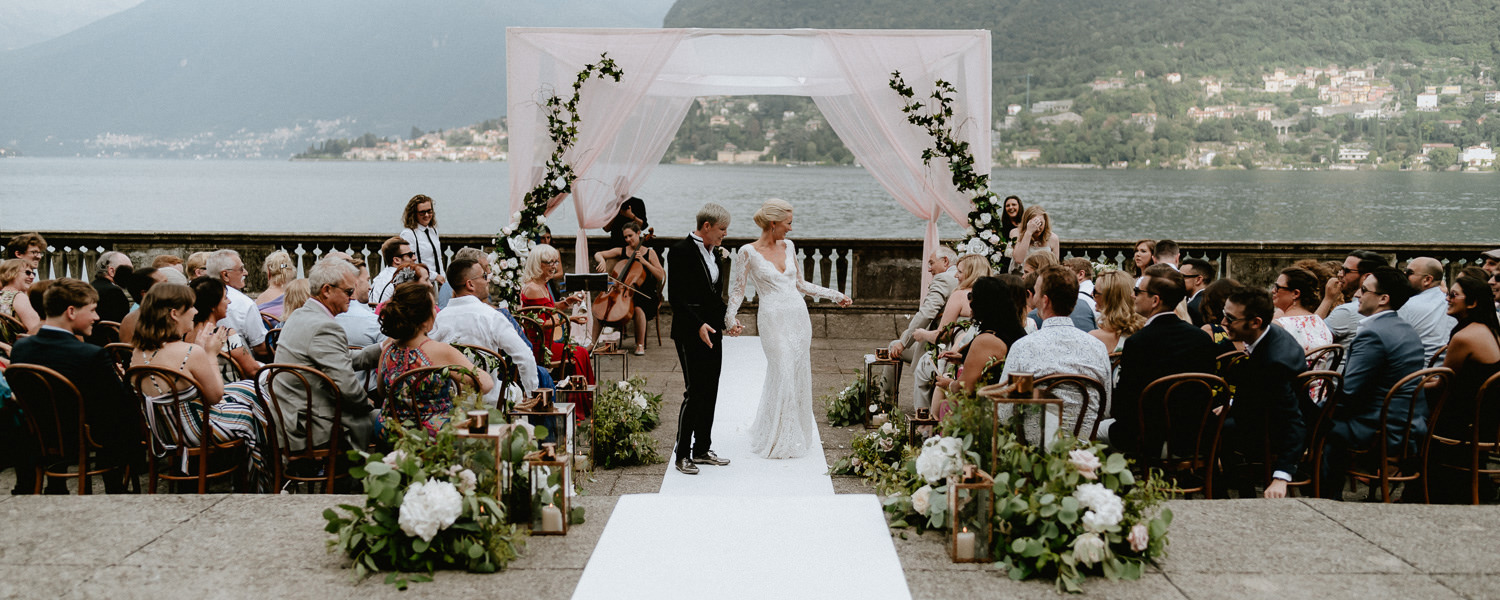 lake como wedding photographer villa pizzo riverside ceremony