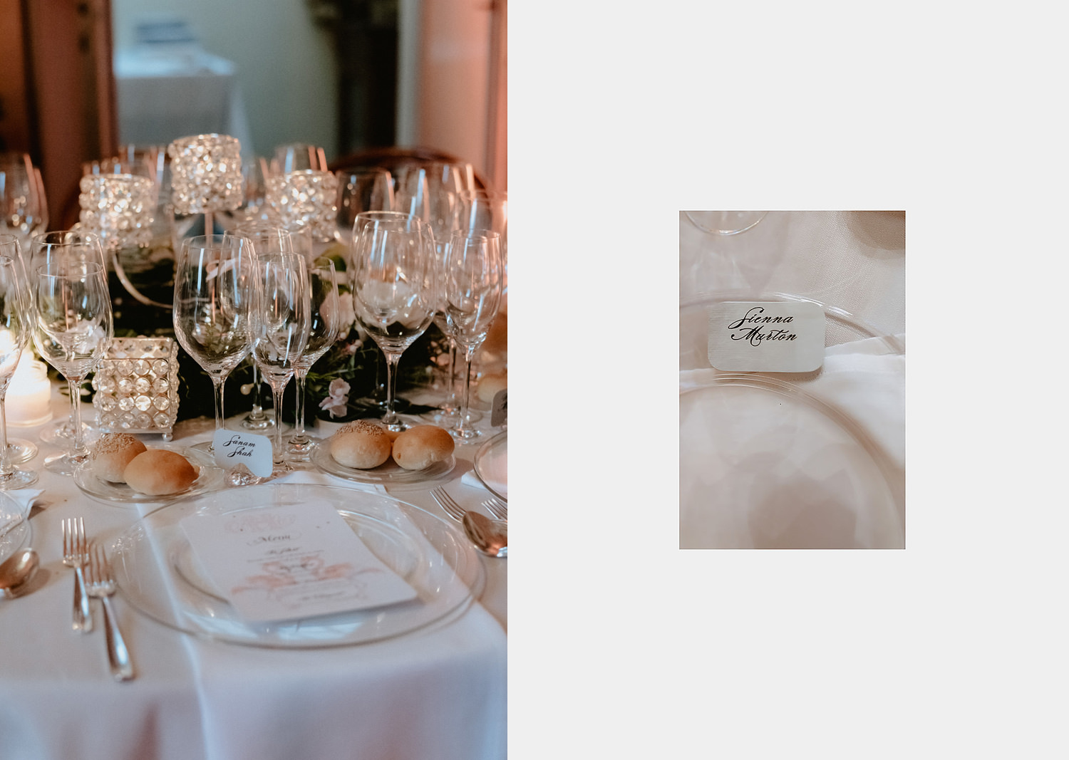 lake como wedding photographer villa pizzo rainy plane b inside dinner