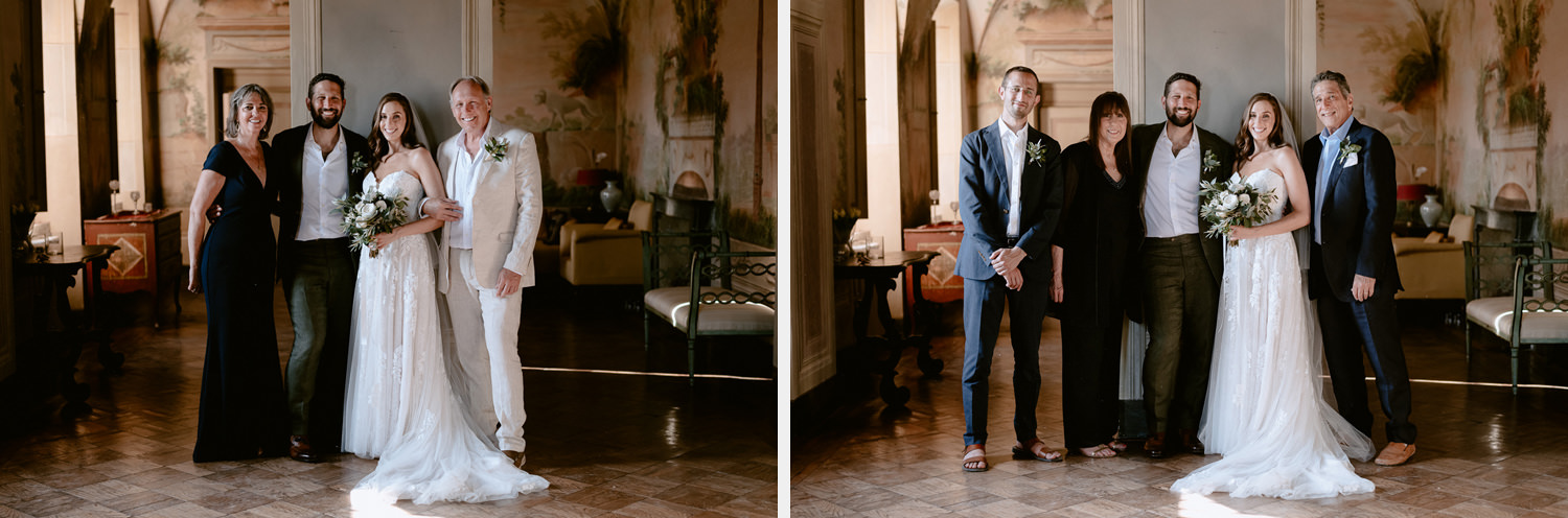 villa catignano wedding photogprapher siena family formals