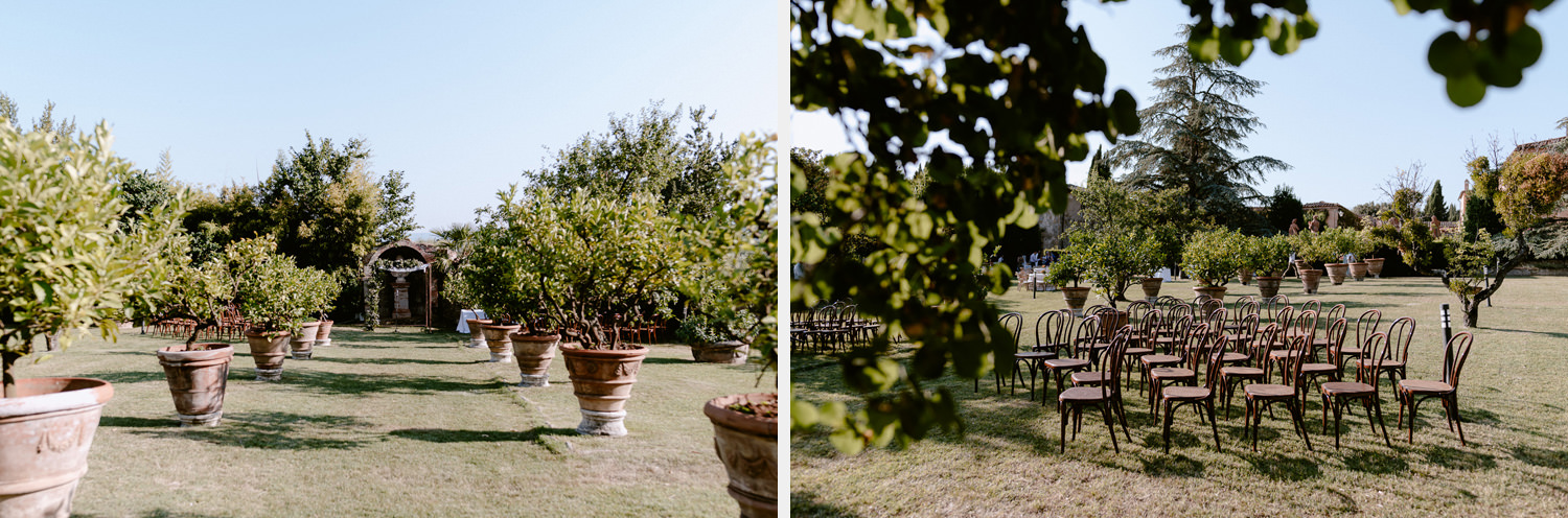 villa catignano wedding photogprapher siena outdoor symbolic jewish ceremony