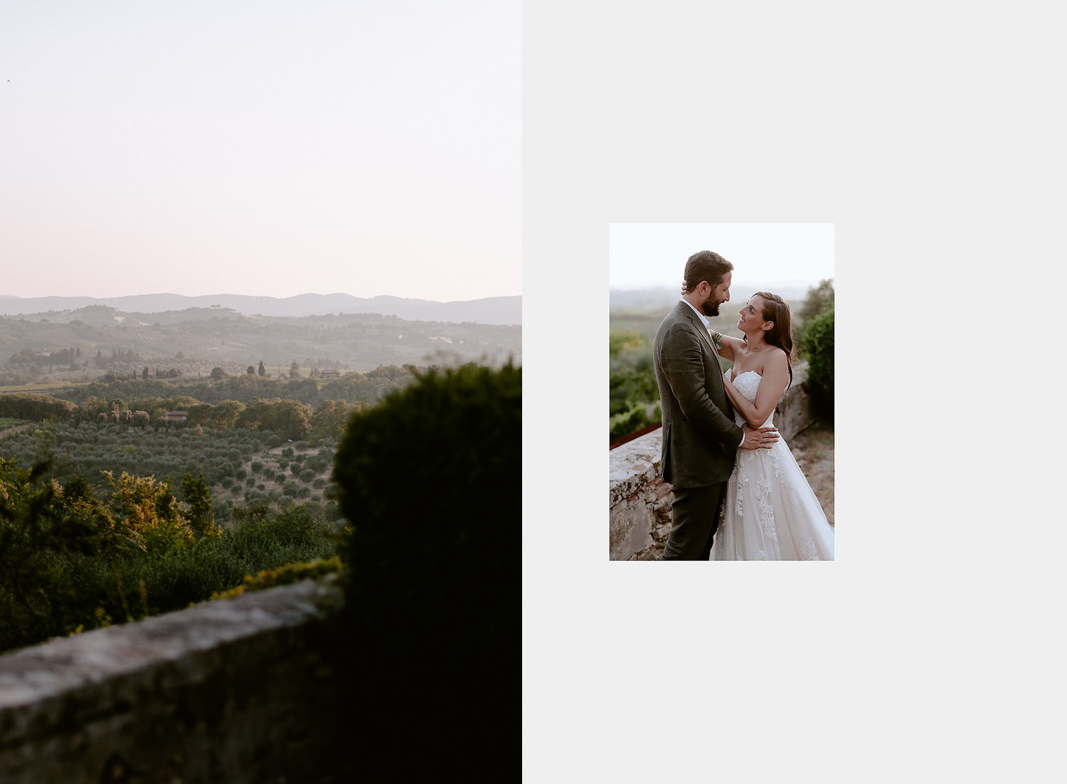 villa catignano wedding photogprapher siena symbolic jewish marriage outdoor couple session