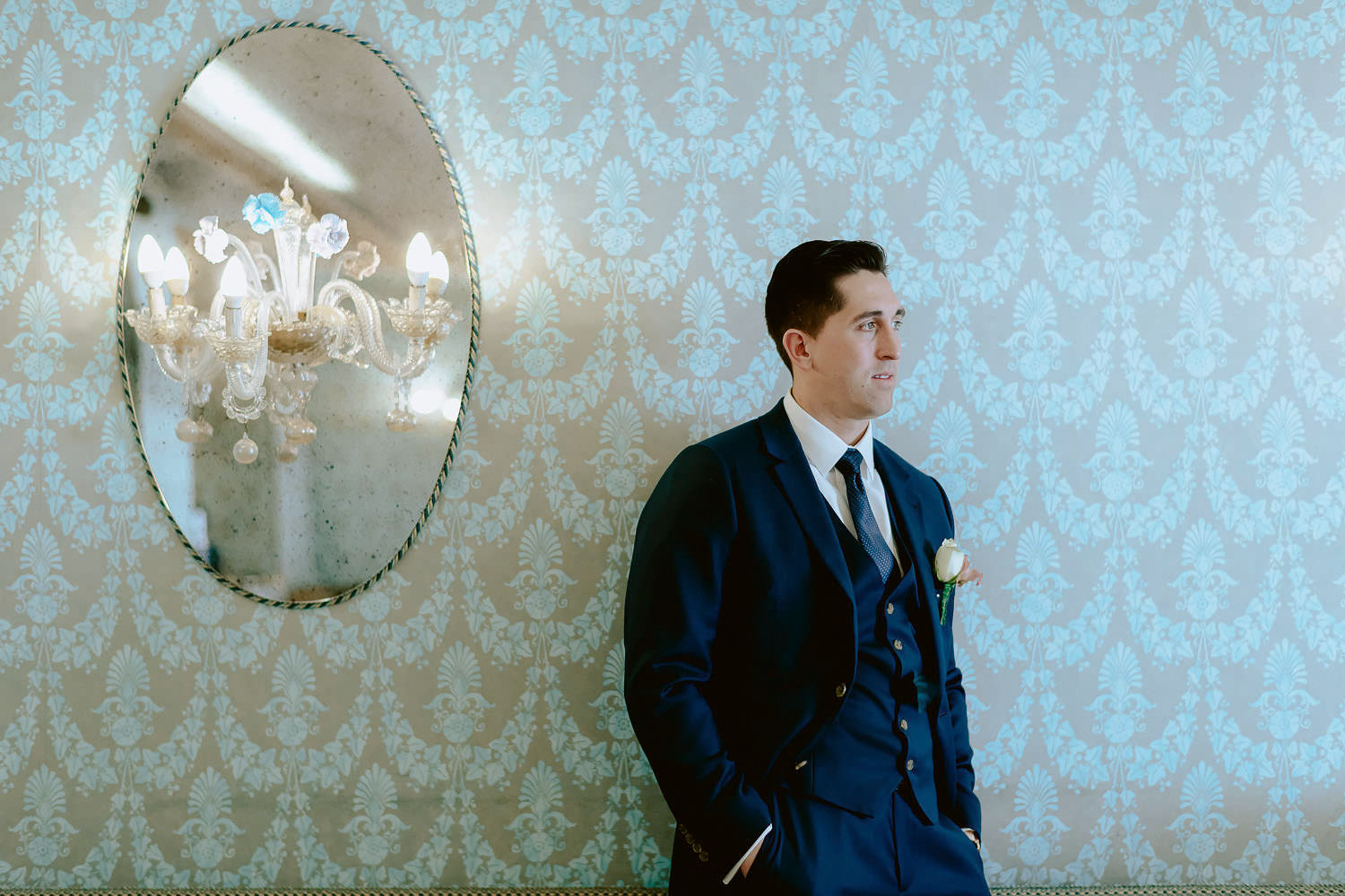 wedding photographer venice elopement photography getting ready hotel giorgione