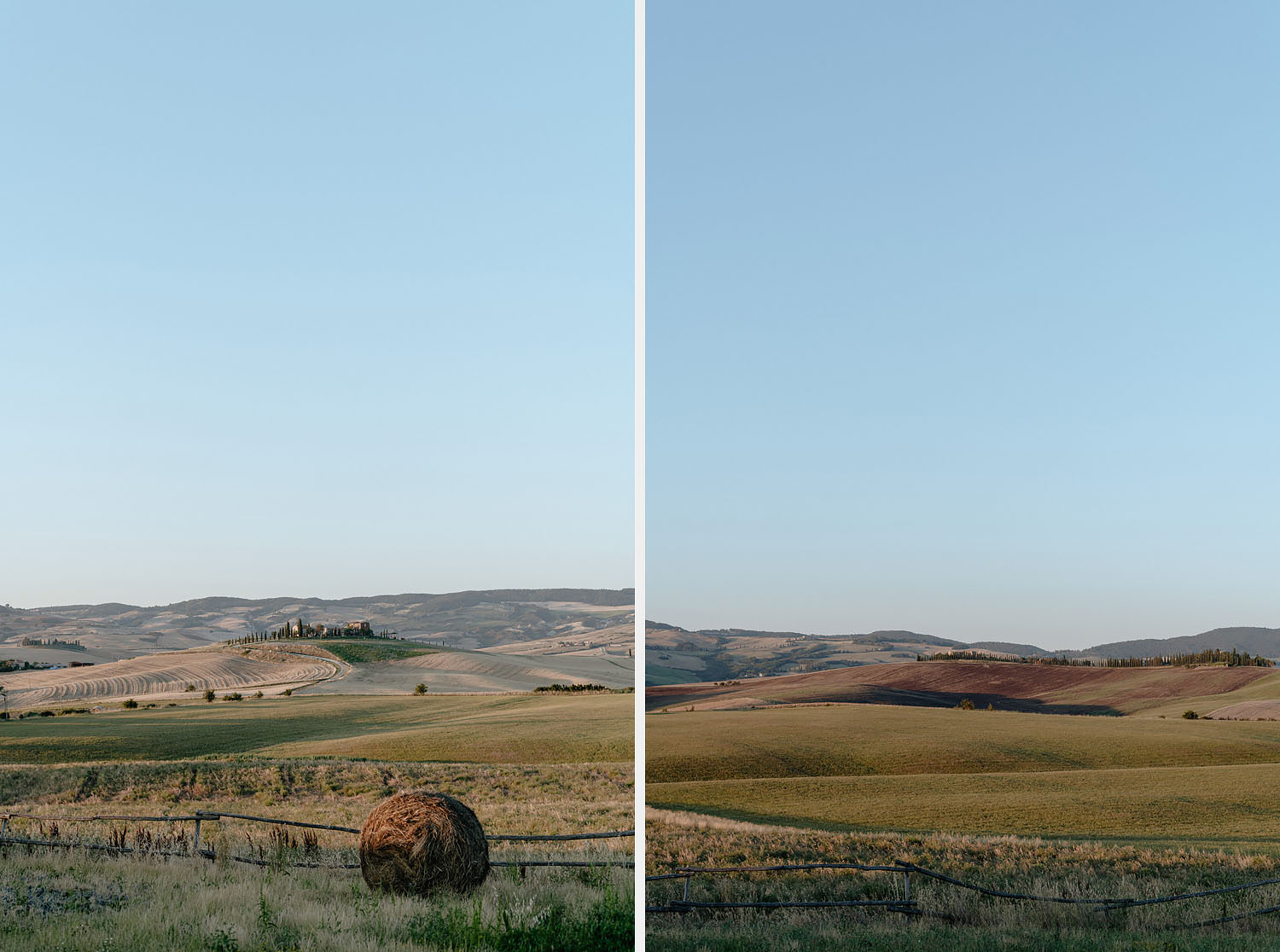 Wedding Inspiration Tuscan Rolling Hills val d orcia locanda in tuscany view