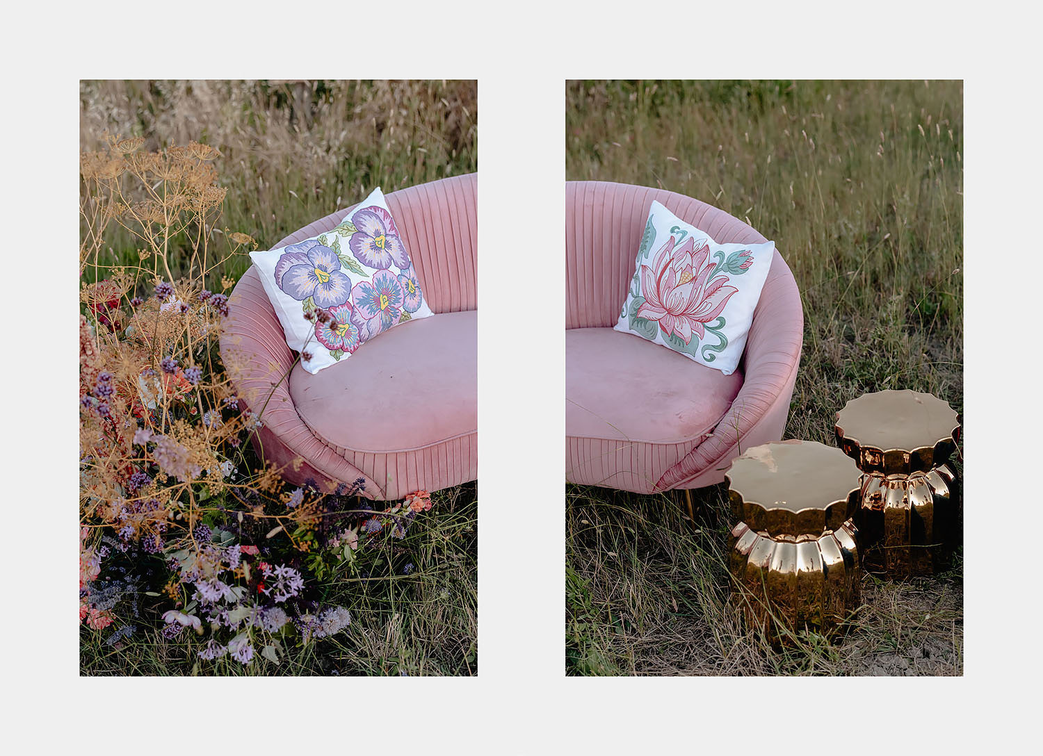 intimate Wedding Inspiration Tuscan Rolling Hills sofa intimate spot in coutriside event set