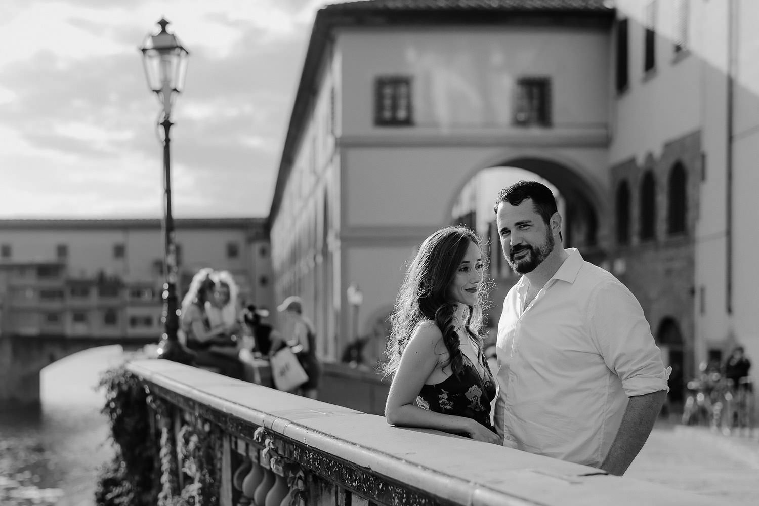 photographer florence travel vacation family ponte vecchio