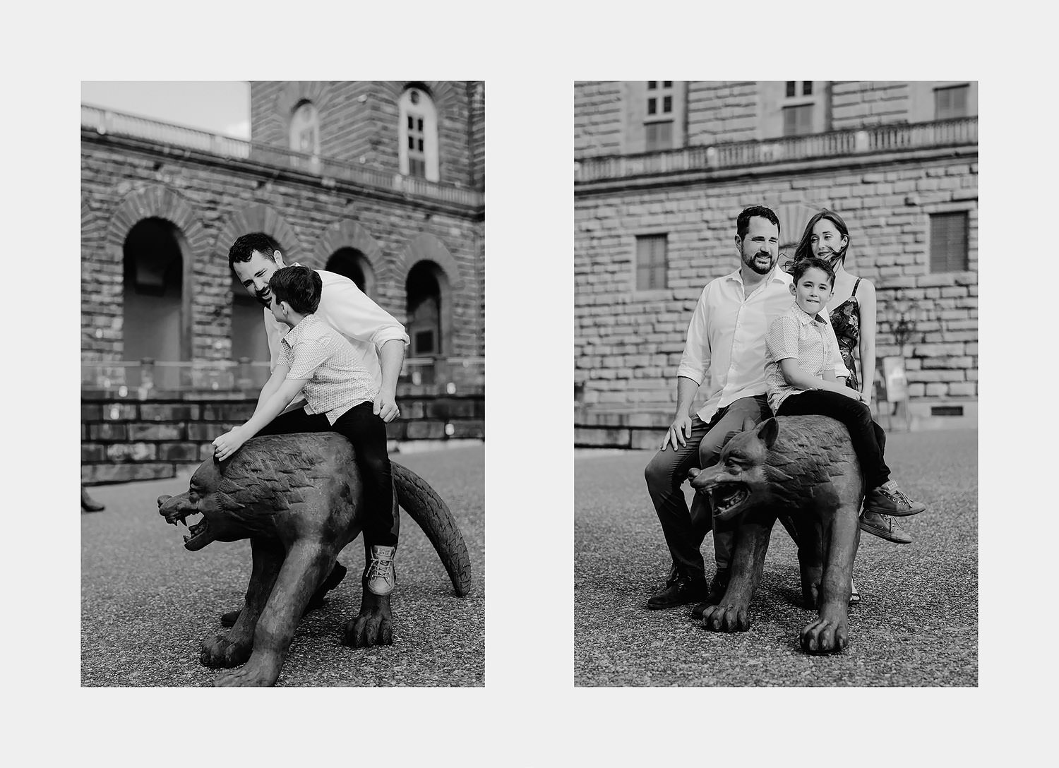 photographer florence tuscany travel vacation family piazza pitti
