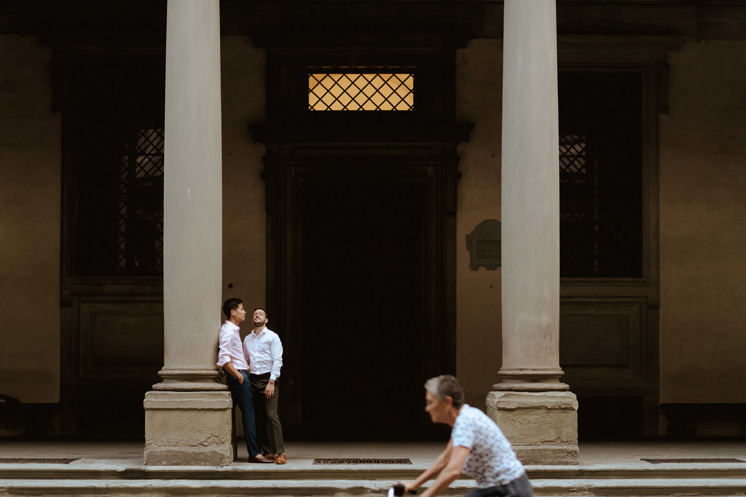 same sex lgb engagement session in florence