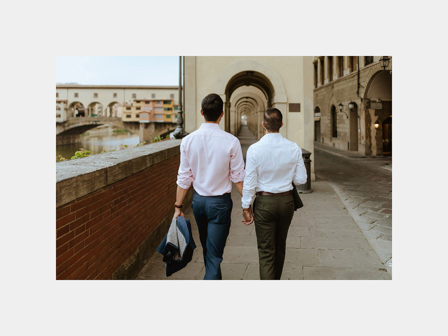 same sex lgbt engagement session in italy gay couple