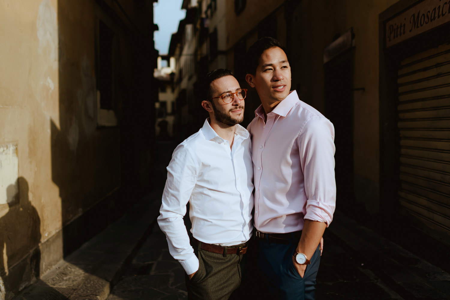 lgbt engagement in italy gay couple