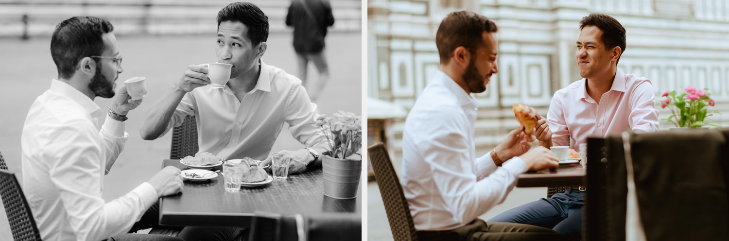 lgbt engagement photos in italy gay couple