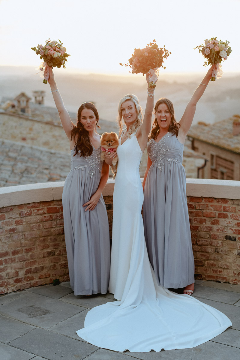 bridal party best photography