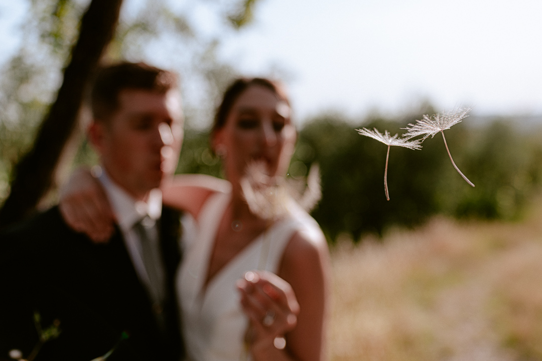 bride and groom creative photography portrait
