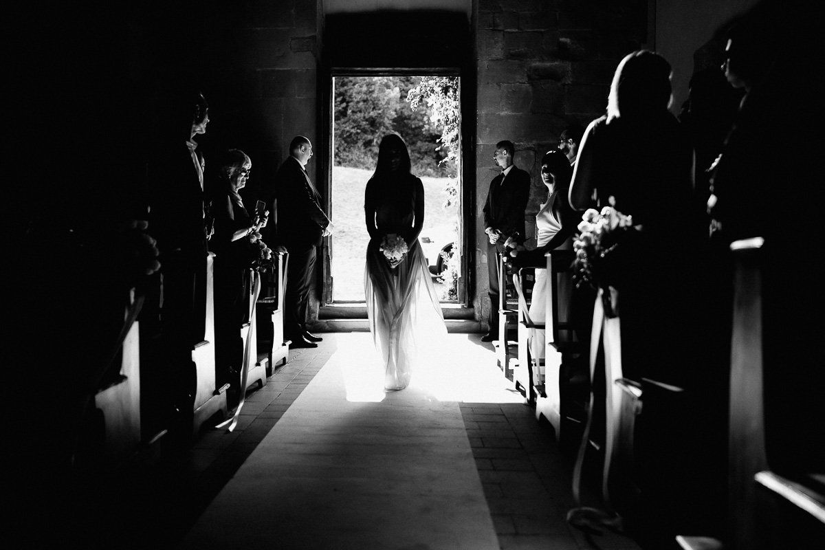 bride entrance wedidng in florence