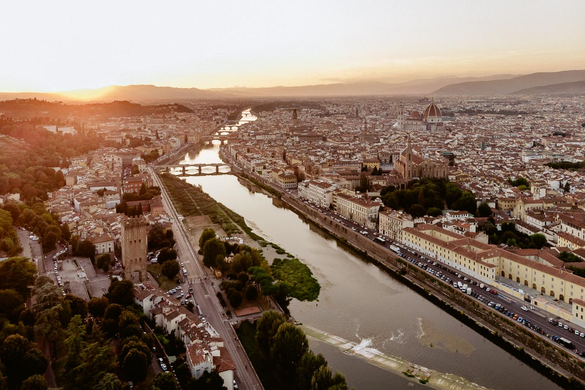 florence drone photography