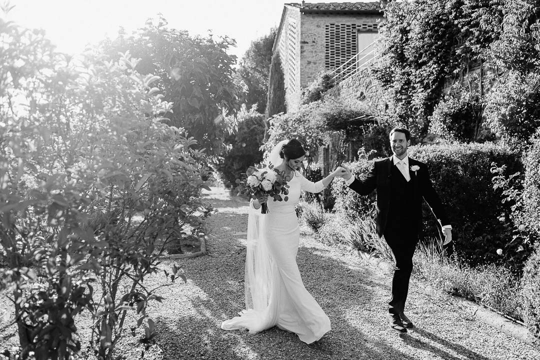 jusrt married in tuscany